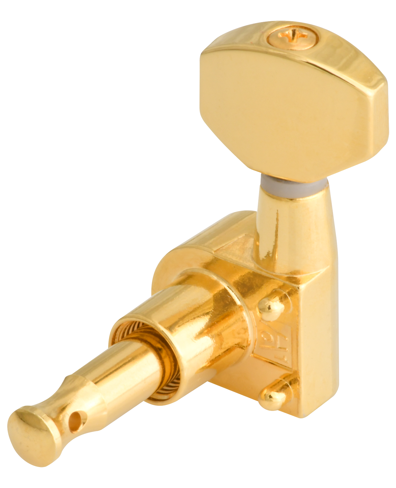 3+3 - Gold 6 Individual Golden Gate F-2061 Acoustic Guitar Tuners